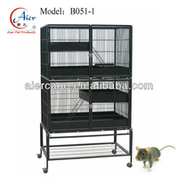 large metal double mouse cage