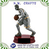 Custom basketball figure action trophy