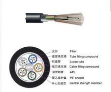 good quality but cheap price GYTA Outdoor G652D FRP Strength Armored 2 Core Fiber Optic Cable Meter Price GYTA