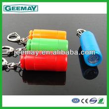 Multi-function promotional keychain flat led flashlight