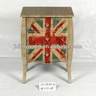 Jack design vintage wooden cabinet