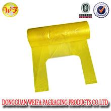 bio-degradable side gusset trash bag /garbage bag on roll