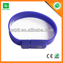 Promotion gift usb best price usb flash drive silicone usb medical bracelet