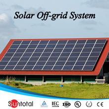 high effiency battery backup grid-tie portable solar power generator