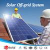 battery backup grid-tie solar panel light kit