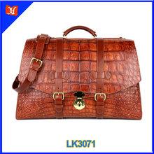 High quality genuine crocodile leather handbag factory crocodile skin handbags