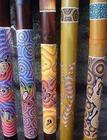 Dot Painting Style Didgeridoo