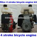 bicicleta do motor a gasolina gxh50 142f 4 stroke gasolina kit para bicicleta motorizada