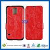 C&T Leather folio ID Credit Card holder flip case for samsung s5 i9600