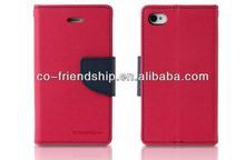 mercury goospery fancy diary leather case,pouch wallet case for Xiaomi hongmi redmi