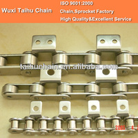 C2082 Double Pitch Conveyor Roller Chain With Pads A2