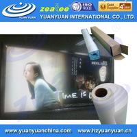 MOST POPULAR! backlit plastic film for inkjet printing, for light box advertisement