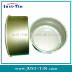 838 170g two pieceround tin can with lid for food canning fish