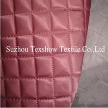Insulating ultrasonic quilting nylon fabric