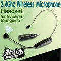 Micrófono inalámbrico 2,4G portátil para megáfono, altavoz amplificador para profesores, guía turístico, promoción de ventas, conferencia