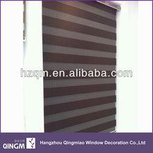 2014 New pattern polyester zebra blind