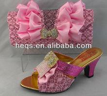 2013 cheap price women's italian shoe and bag matching sets