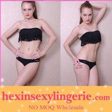 Sexy extreme transparant padded lady sexy exotic swimwear bikini