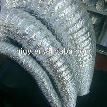 tubos flexibles de aluminio y poliuretano