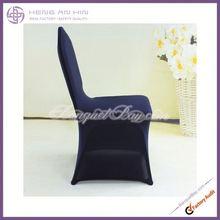 navy blue hotsale spandex cheap chair cover lycra cheap chair cover wedding decoration