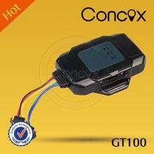 Concox water proof cut-off alarm gps tracker GT100