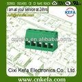 Kf129l-5.0/5.08 mm pcb tornillo del bloque de terminal conector 300v/20a
