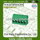 KF129L-5.0/5.08 mm pcb screw terminal block connector 300V/20A
