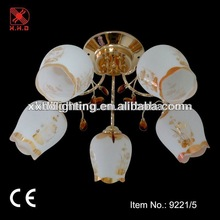 hot sale Russian styles lamps /ceiling pendant light gold color cheap chandelier