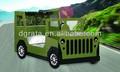 2014 mais recente de venda quente verde jeep car cama é projeto para crianças em placa E1 MDF e pintura colorida