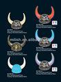 Partido pirata de plástico de viking cuernos casco MHH42