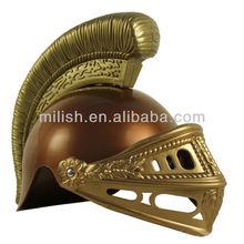Party Plastic toy Medieval Roman Knight helmet MHH55