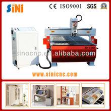 Sin-c25b 2500*1300mm fabbrica diretta 3d cina cnc tornio di legno