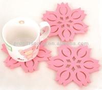 eco friendly handmade felt center table mats - OEM & ODM welcomed