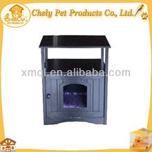 Elegant Design Cat Toilet Wooden Cat Litter Box Wholesale Newest Pet Cages, Carriers & Houses