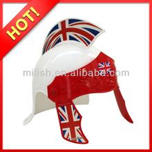 Party England football fans Plastic Medieval Roman helmet MHH71