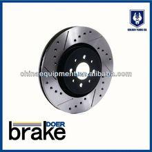 customized rotor/cross drilled racing brake rotor/motorcycle adjustable brake lever
