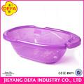 venta al por mayor de china mejor la venta de bebés bebé del producto mesa de cambio con tina de baño de bebé de plástico barato bañera bañera redonda