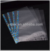 PP punch hole sheet protector 11 holes,new design,color strip