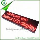 Hidly led car rear window digital display