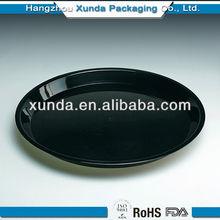 2014 hot sale custom printed plastic serving tray