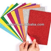 Self-adhesive Glitter Foam sheet