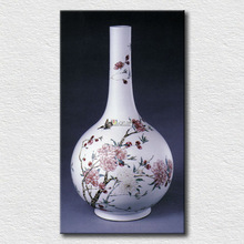 Canvas wall art painting of traditional pottery pictures for living room decoration