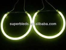 12v super bright CCFL Angel eyes ring for bmw E46,E87,E38,E90,E91 headlight