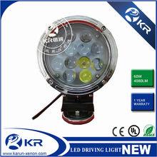 New!! IP68 Cree LED Driving light for ATV, UTV, SUV, BOATS 60w cree led driving light