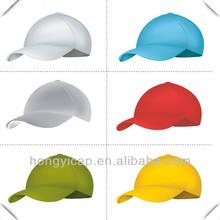 Wholesale cheap new design blank plain high quality 100% cotton golf sports baseball cap/hat