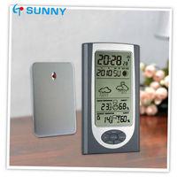 Slim Radio Controlled Travel Alarm Clock