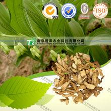 100% PURE herbal medicine Polygonatum odoratum (Mill.)Druce from GMP manufacturer