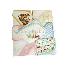 China crochet cheap fleece baby blankets wholesale