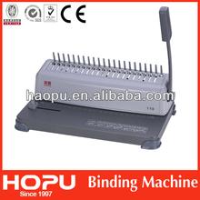 Hopu cheap perfect binding machine\carpet binding machines for A4 made in China