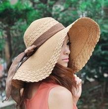 girl summer beach hat